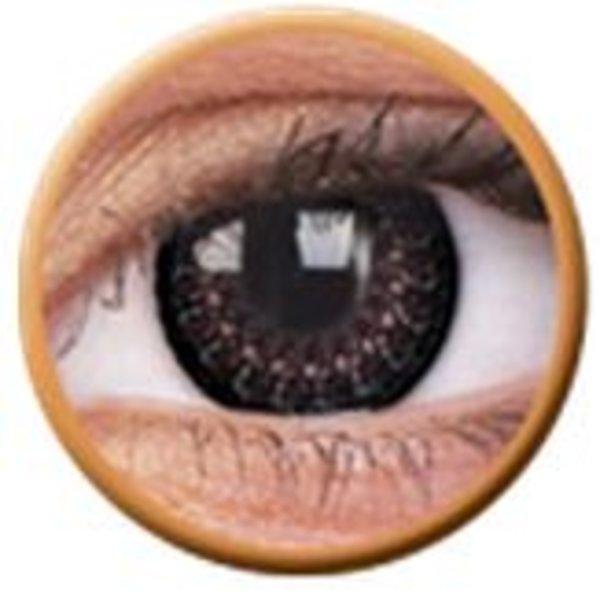 ColourVue Eyelush - Choco (2 čočky tříměsíční) - nedioptrické