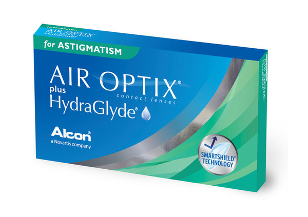 Air Optix plus HydraGlyde for Astigmatism (3 čočky)