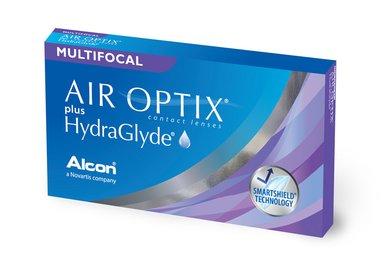 Air Optix plus HydraGlyde Multifocal (6 čoček)