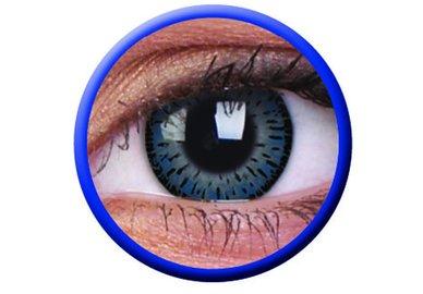 ColourVue Elegance - Blue (2 čočky tříměsíční) - dioptrické - výpredaj exp.2020/21
