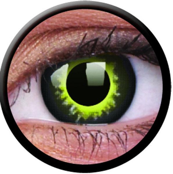 ColourVue Crazy čočky - Eclipse (2 ks roční) - nedioptrické - exp.04/2020