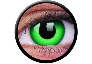 ColourVue Crazy čočky - Emerald (2 ks roční) - nedioptrické
