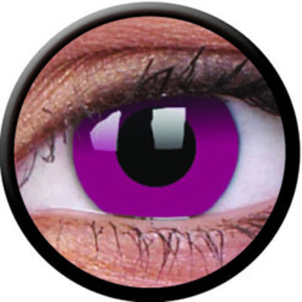 ColourVue Crazy čočky - Purple (2 ks roční) - nedioptrické