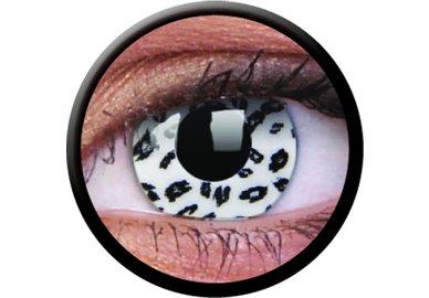 ColourVue Crazy čočky - White Leopard (2 ks roční) - nedioptrické - exp.04/2020