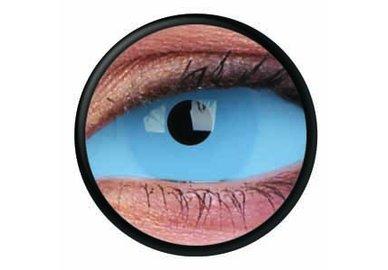 ColourVue Crazy čočky Sklerální - Athena Blue (2 ks půlroční) - nedioptrické