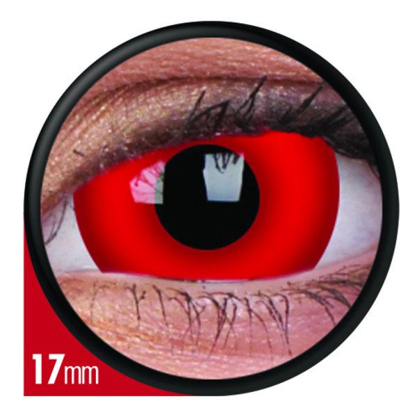 ColourVue Crazy čočky 17 mm - Dare Devil (2 ks tříměsíční) - nedioptrické