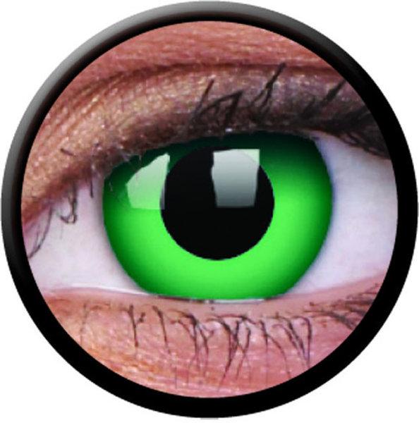 ColourVue CRAZY ČOČKY - Emerald (2 ks tříměsíční) - nedioptrické