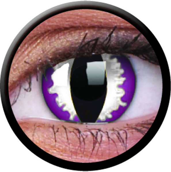 ColourVue CRAZY ČOČKY - Purple Dragon (2 ks tříměsíční) - nedioptrické