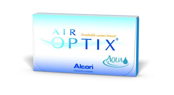AIR Optix Aqua (6 čoček) - Poškozený obal