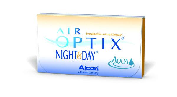 Air Optix Night & Day Aqua (6 čoček) - exp.11/2016