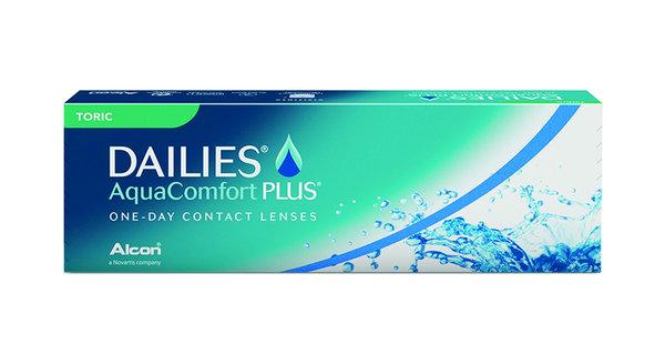 Dailies AquaComfort Plus Toric (30 čoček) - výprodej skladu