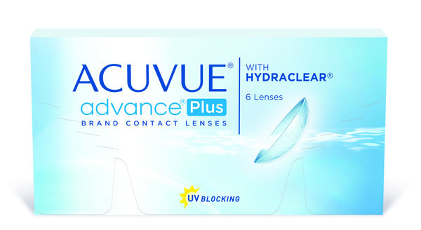 Acuvue Advance Plus (6 čoček) - výprodej 12/2016