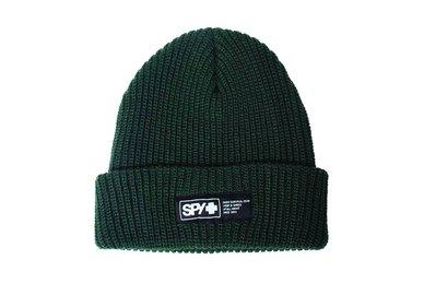 SPY Zimní čepice pletená - olivová