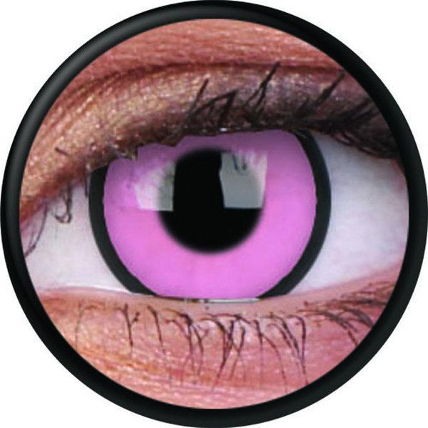 ColourVue Crazy čočky - Hot Pink (2 ks roční) - nedioptrické