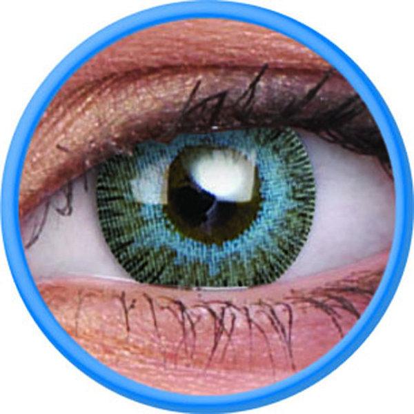 ColourVue Fusion - Grey Blue (2 čočky tříměsíční) - nedioptrické