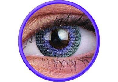 ColourVue Fusion - Violet Gray (2 čočky tříměsíční) - nedioptrické