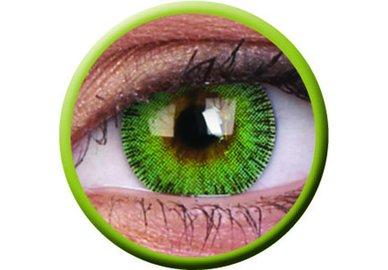 ColourVue Fusion - Yellow Green (2 čočky tříměsíční) - dioptrické
