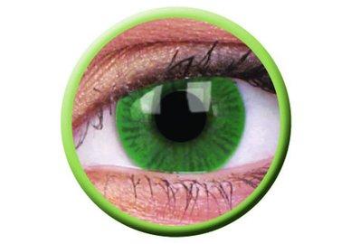 ColourVue Basic - Green (2 čočky tříměsíční) - nedioptrické