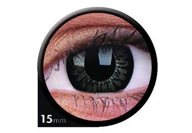 ColourVue Big Eyes - Awesome Black (2 čočky tříměsíční) - dioptrické - exp.04/2020