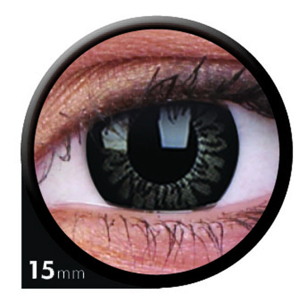 ColourVue Big Eyes - Awesome Black (2 čočky tříměsíční) - nedioptrické-doprodej, výroba ukončena
