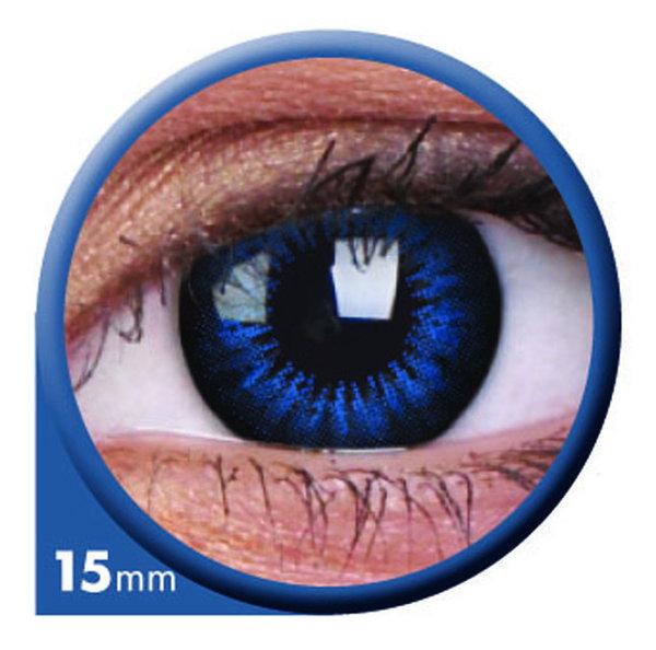 ColourVue Big Eyes - Cool Blue (2 čočky tříměsíční) - dioptrické
