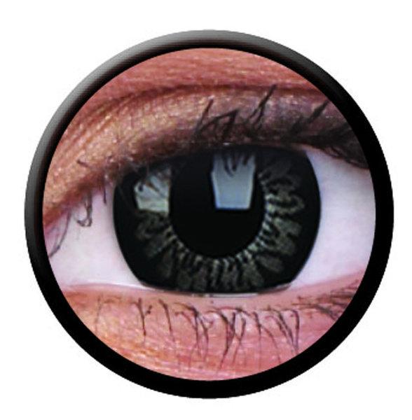 ColourVue Big Eyes - Dolly Black (2 čočky tříměsíční) - dioptrické-doprodej; výroba ukončena