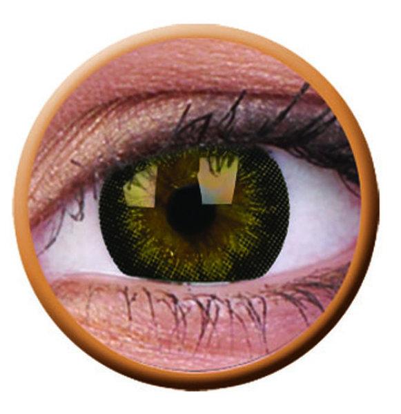 ColourVue Big Eyes - Gorgeous brown (2 čočky tříměsíční) - dioptrické - exp.04/2020