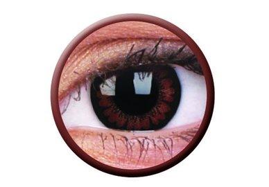 ColourVue Big Eyes - Pretty Hazel (2 čočky tříměsíční) - dioptrické