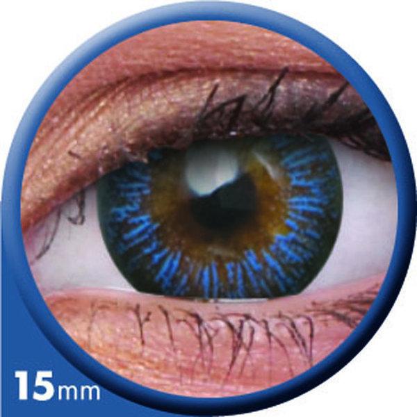 ColourVue Big Eyes - Enchanter Blue (2 čočky tříměsíční) - dioptrie -7,00 exp.12/2020