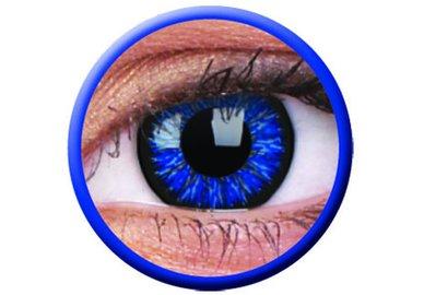 ColourVue Glamour - Blue (2 čočky tříměsíční) - dioptrické