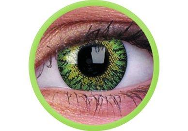 ColourVue Trublends - Green (2 čočky měsíční) - nedioptrické