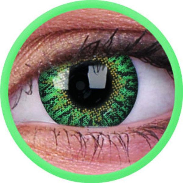 ColourVue Trublends One-Day - Emerald  nedioptrické (10 čoček)