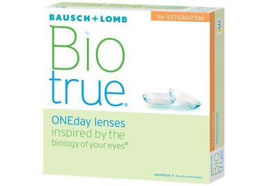 Biotrue ONEday for Astigmatism (90 čoček)