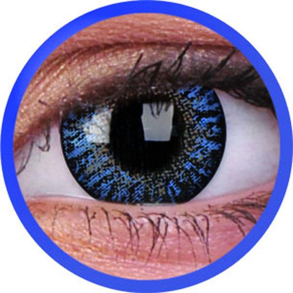 ColourVue Trublends One-Day -  Blue dioptrické -5,50 (10 čoček) - exp.10/2020