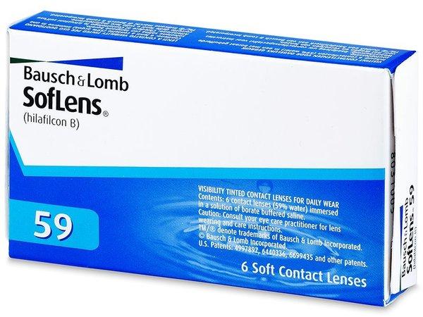SofLens 59 (6 čoček) - poškozený obal