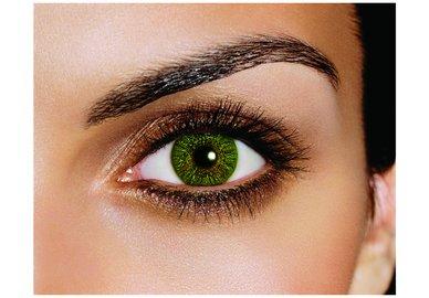 FreshLook Colors - Green (2 čočky měsíční) - dioptrické Výprodej expirace 03/2021
