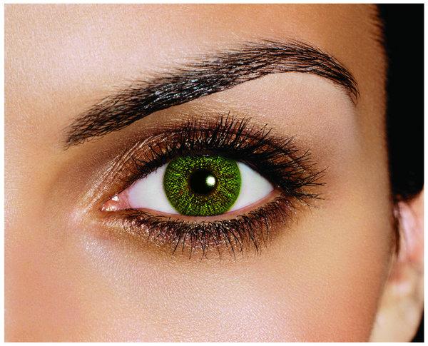 FreshLook Colors - Green (2 čočky měsíční) - dioptrické Výprodej - Expirace 10/2021