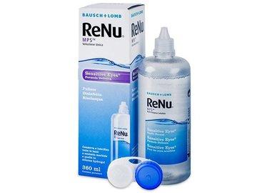 ReNu MPS Sensitive Eyes 360 ml s pouzdrem - poškozený obal