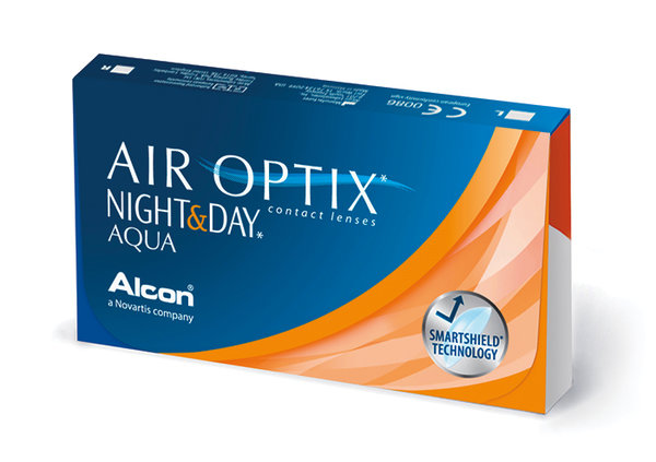 Air Optix Night & Day Aqua (6 čoček) - Výprodej - Expirace 2021