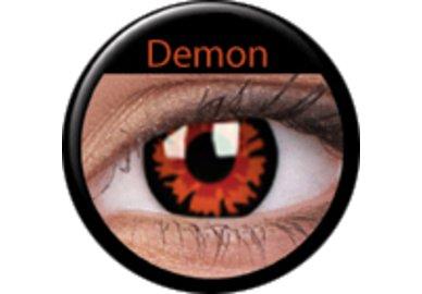 ColourVue Crazy čočky - Demon - Volturi (2 ks jednodenní) - nedioptrické