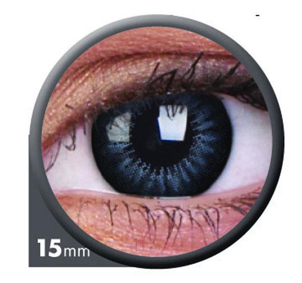 ColourVue Big Eyes - Evening Grey (2 čočky tříměsíční) - dioptrické - exp.07/2021