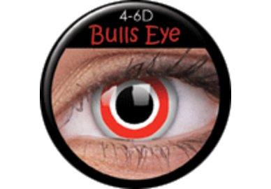 ColourVue Crazy čočky - Bulls Eye (2 ks roční) - nedioptrické