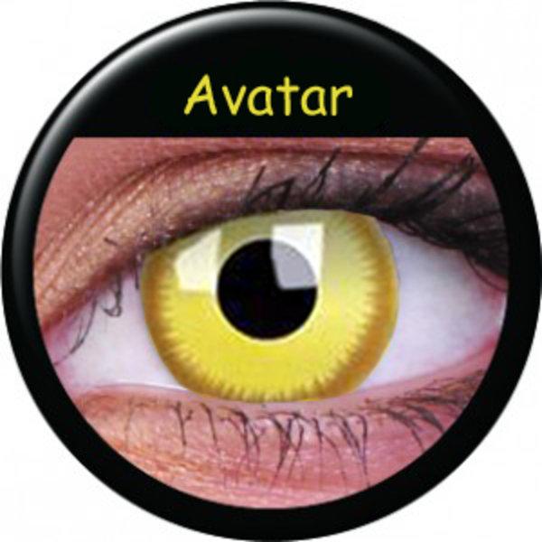 ColourVue Crazy čočky - Avatar (2 ks roční) - nedioptrické
