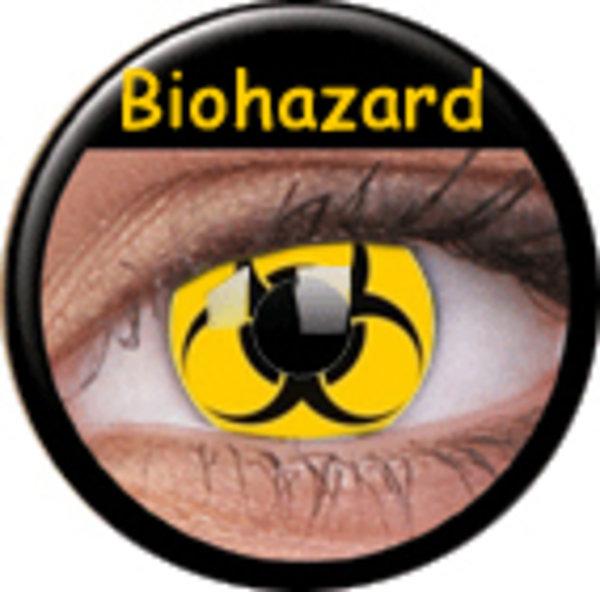ColourVue Crazy čočky - Bio Hazard (2 ks roční) - nedioptrické