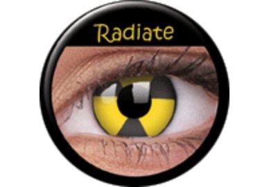 ColourVue Crazy čočky - Radiate (2 ks roční) - nedioptrické