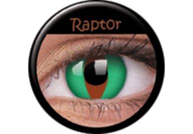 ColourVue Crazy čočky - Raptor (2 ks roční) - nedioptrické