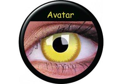 ColourVue CRAZY ČOČKY - Avatar (2 ks tříměsíční) - dioptrické