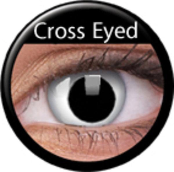 ColourVue CRAZY ČOČKY - Cross Eyed (2ks tříměsíční) - nedioptrické - výprodej
