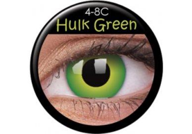 ColourVue CRAZY ČOČKY - Hulk Green (2 ks tříměsíční) - dioptrické