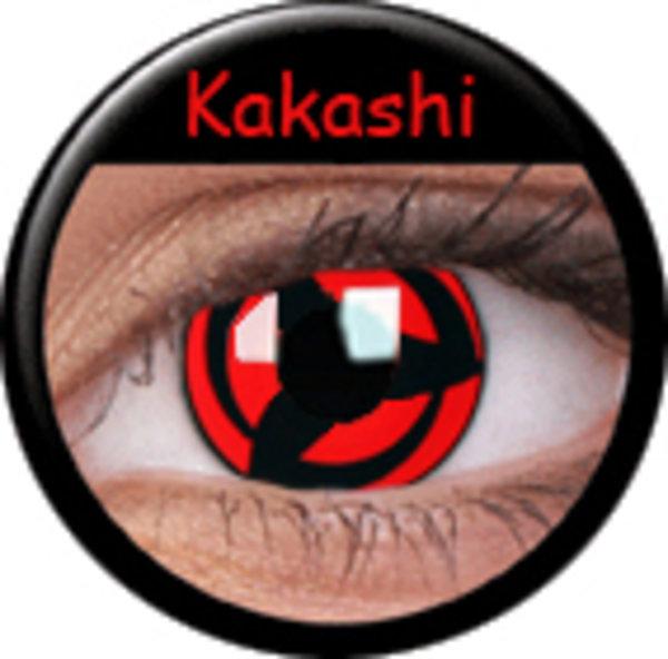 ColourVue CRAZY ČOČKY - Kakashi (2 ks tříměsíční) - dioptrické - doprodej 11/2019